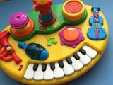 Развивающая панель пианино - танцующий мишка